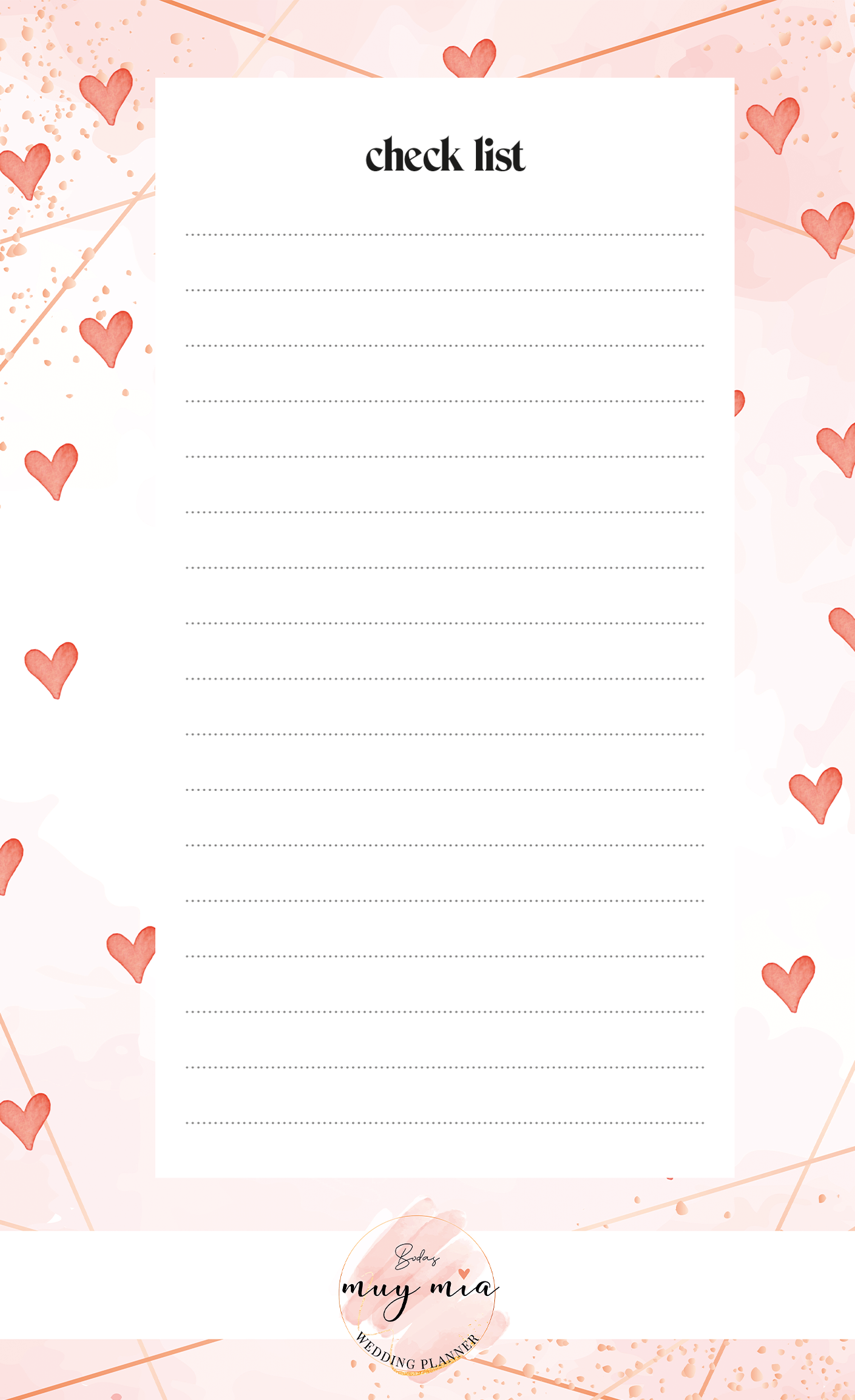 0. Checklist